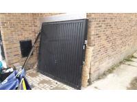 Garage Door 2140mm x 1950mm (7' x 6'6) to fit opening of 2100mm high x 2300mm