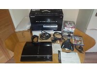 RARE Playstation 3 model - 60Gb CECHC03 - BOXED / IMMACULATE! Collectors Item Plays PS2 Games