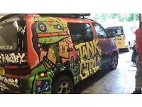 All rounder for wicked campers london