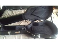 C.N.B. Hardcase for classical acoustic guitar, as new condition