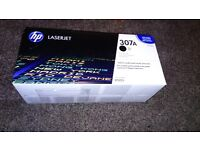 NEW and Sealed HP CP 5225 307A Black, Yellow and Magenta Toners