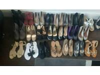 Size 4 flats heels boots sandal