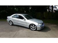 Mercedes C320 cdi V6 diesel 7speed avantgaurd sell or swap 4x4 (shogun etc)