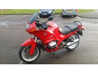 VERY CLEAN BMW R1100RS TOURING BIKE, 1 YEARS MOT.. PRICE NEGOTIABLE