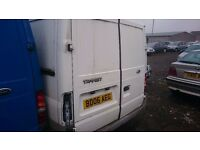 2006 FORD TRANSIT 260 SWB, 2LT DIESEL, BREAKING FOR PARTS ONLY, POSTAGE AVAILABLE NATIONWIDE