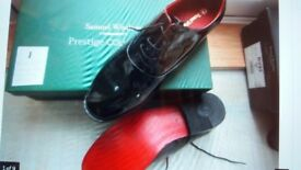 Men's Brand New Shoes. Size 9. Various styles, prices and well known makes. Leather. Runwell Essex