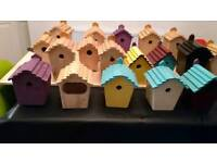 Handcrafted Bird Boxes