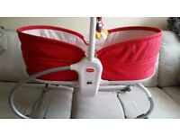 Tiny love 3 in 1 baby napper rocker bouncer Red Sealed