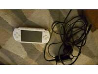 White psp with 3 films