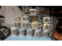 Royal family cups