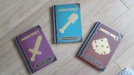 Minecraft handbooks set of 3