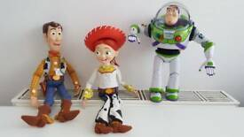 Talking Woody, Buzz and Jessie