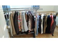 Selection of ladies clothing.