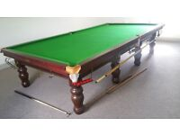 12x6 conway snooker table mint