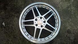 "ac schnitzer replica 19"" alloy wheel bmw"