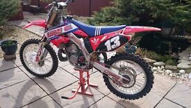 2003 Honda CR 250R, Road Registered