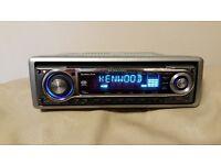KENWOOD CAR HEAD UNIT MP3 CD PLAYER RCA RADIO KDC-W6031 STEREO AMPLIFIER 4 x 50 WATT AMP