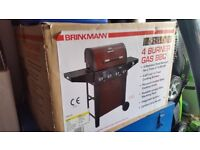 BRINKMANN 4 Burner Gas BBQ - Brand New & For Sale / Collection Only.