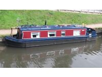 Cruiser stern narrowboat 1997