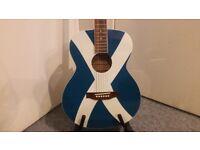 Freshman Maple Ridge FASCOT Saltire Grand Auditorium Acoustic Guitar For Sale.