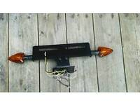 Kawasaki zx7r zx750r numberplate holder with led indicators