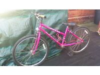 GIRLS/SMALL ADULTS BIKE. GOOD CONDITION