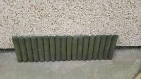 5 garden edging panels