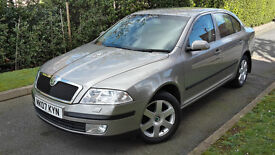 2007 SKODA OCTAVIA ELEGANCE 1.6 FSI,ONE OWNER,LOW MILEAGE,FULL SERVICE HISTORY,VERY GOOD COND.