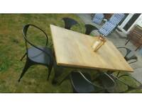 Gorgeous retro trendy dining table and chairs