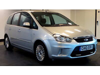 2010 10 FORD C-MAX 2.0 TITANIUM 5d 136 BHP, 1 PREVIOUS OWNER, PARKING SENSORS, 2 YEARS WARRANTY,
