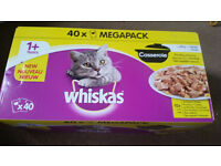 Various cat food, new and unopened with good shelf life
