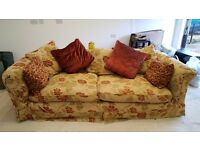 Gillies large 3 seater sofa and Chair