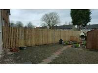 Fencing from £25 a meter get in touch for free quote