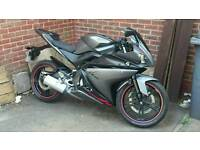 Yamaha Yzf r125 delivery avalible. Cbr 125