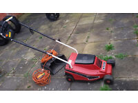 Rotary Lawnmower Mountfild ''Princess'' and garden tools