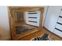 Gold Wall Mirror for sale