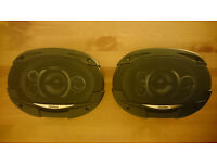 Clarion 600W Multiaxial (6'x9') 5 way Car Speakers For Sale