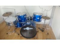 5 Piece Drum Kit - suitable for beginners
