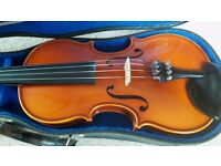 3/4 size German Eberhard Meinel violin - excellent condition, really nice tone, refurbished.