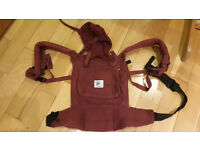 Ergobaby baby carrier Burgandy (USED)