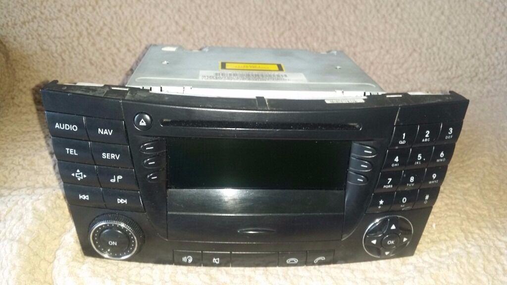 MERCEDES E CLASS W211 CLS C219 W219 Radio CD Sat Nav Audio 50 APS 320 500 220in Torquay, DevonGumtree - Used,good condition MERCEDES E CLASS W211 CLS C219 W219 Radio CD Sat Nav Audio 50 APS 320 500 220