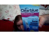 pregnancy test clear blue