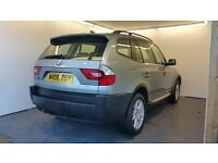 2006 | BMW X3 2.0 d SE 5dr | 1 Year MOT | 2 Keys | Leather| Parking Sensors | Air Conditioning
