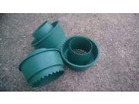 3x Garden Planting Pots
