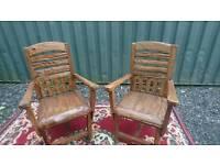 Garden Chairs X 2