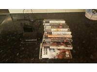 Sony PSP E1000 & Charger & 9 Games!