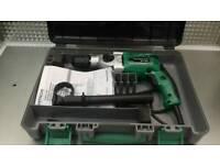 Hitachi dv18v keyless chuck Variable two speed impact drill