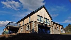 Luxury 3 1/2 bed house for lease Taynuilt