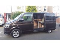 VW T5 Camper campervan Transporter SWB partex p/x BROWN only 88k, 2011 61