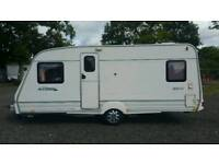 1999 bailey ranger 520 fixed bed model 4 berth comes with a fitted motormover and lots of extras